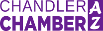 chamber logo dark purple