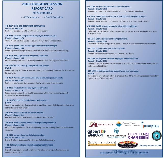 EVCCA Report Card 3